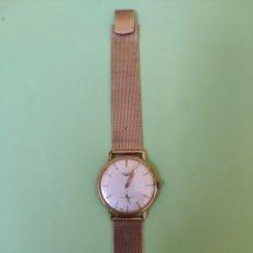Relógios de pulso: RELOJ MARCA LONGINES CAJA Y PULSERA ORO 18 KILATES. Lote 210844185