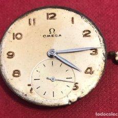 Relógios de pulso: MAQUINARIA DE RELOJ OMEGA, CON CORONA ORIGINAL.. Lote 210936250
