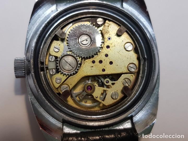 Relojes de pulsera: Reloj Lux caballero Submarinista Cuerda 17 jewels funcionando - Foto 2 - 210970105