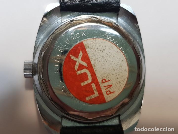 Relojes de pulsera: Reloj Lux caballero Submarinista Cuerda 17 jewels funcionando - Foto 3 - 210970105