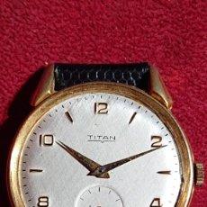 Relógios de pulso: RELOJ DE PULSERA CABALLERO MARCA TITAN - 3,3 CM ESFERA -. Lote 211419891
