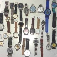 Relojes de pulsera: CONJUNTO DE MAS DE 30 RELOJES VARIADOS. Lote 211905720