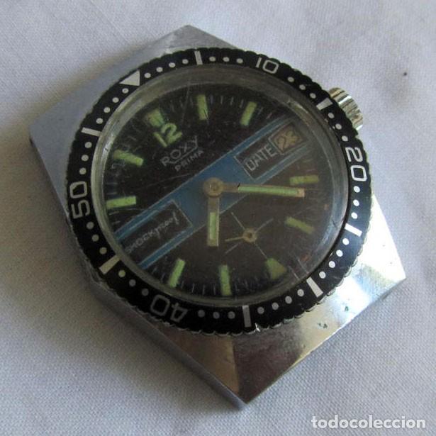 RELOJ ROXI PRIMA A CUERDA, FUNCIONANDO (Relojes - Pulsera Carga Manual)