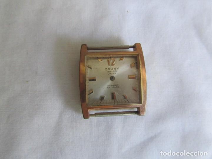 Relojes de pulsera: Reloj Cauny Unity a cuerda, para reparar o piezas - Foto 2 - 211910027