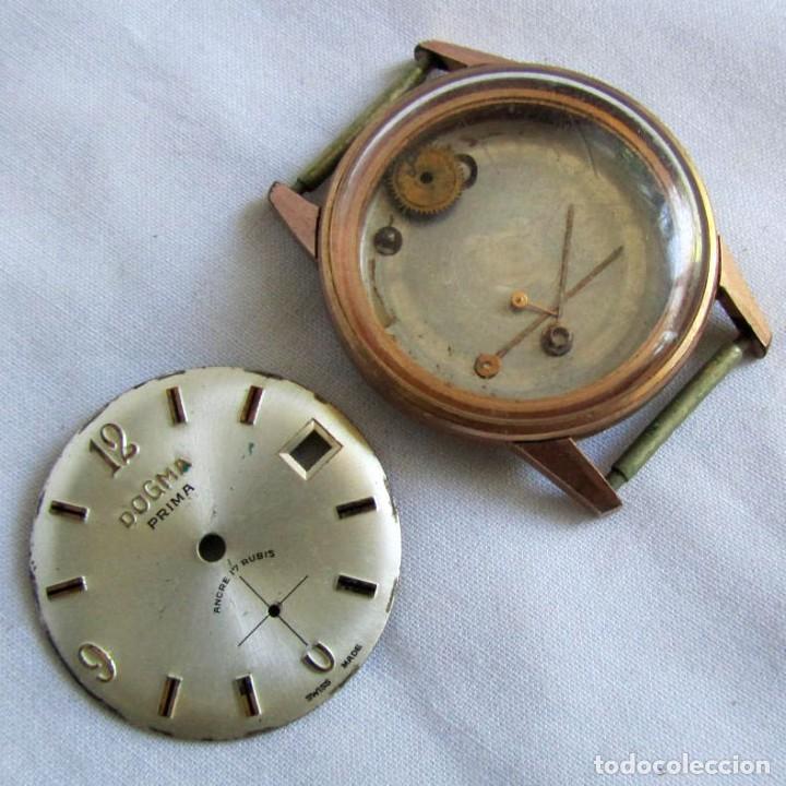 PIEZAS DE RELOJ DOGMA PRIMA (Relojes - Pulsera Carga Manual)