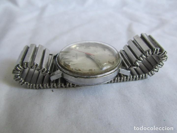 Relojes de pulsera: Reloj de cuerda Edox, funcionando - Foto 3 - 211911681