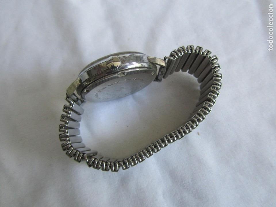 Relojes de pulsera: Reloj de cuerda Edox, funcionando - Foto 6 - 211911681