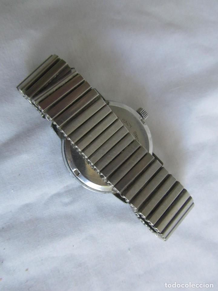 Relojes de pulsera: Reloj de cuerda Edox, funcionando - Foto 7 - 211911681