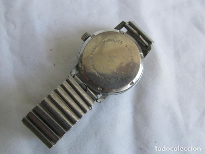 Relojes de pulsera: Reloj de cuerda Edox, funcionando - Foto 8 - 211911681