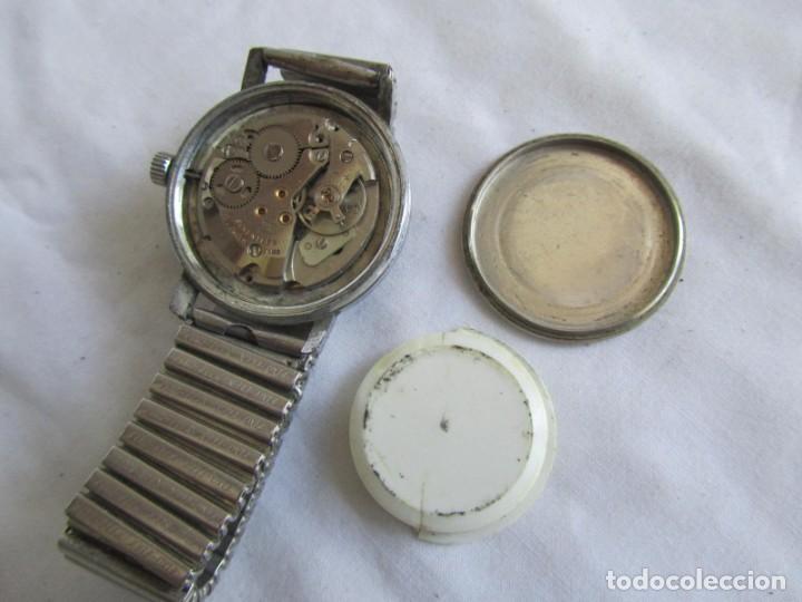 Relojes de pulsera: Reloj de cuerda Edox, funcionando - Foto 9 - 211911681