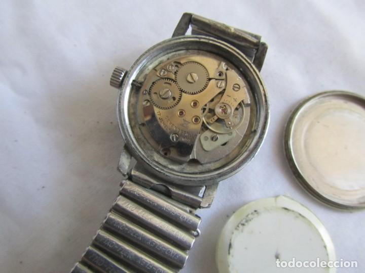 Relojes de pulsera: Reloj de cuerda Edox, funcionando - Foto 10 - 211911681