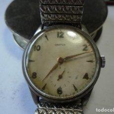 Relojes de pulsera: MAGNIFICO ANTIGUO RELOJ DE CABALLERO CARGA MANUAL ORATOR. Lote 211989587