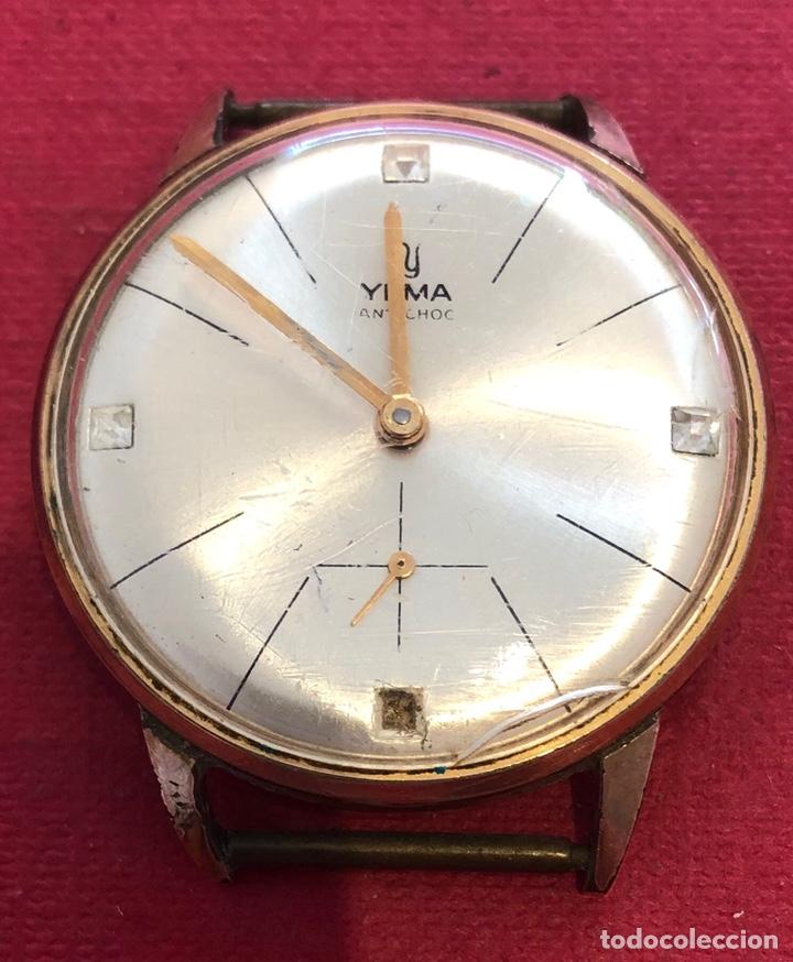 RELOJ DE CARGA MANUAL YEMA. (Relojes - Pulsera Carga Manual)