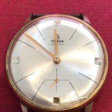 Relojes de pulsera: RELOJ DE CARGA MANUAL YEMA.. Lote 212200108