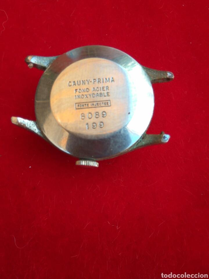 Relojes de pulsera: RELOJ CAUNY PRIMA LA CHAUX DE FONS - Foto 2 - 212256146