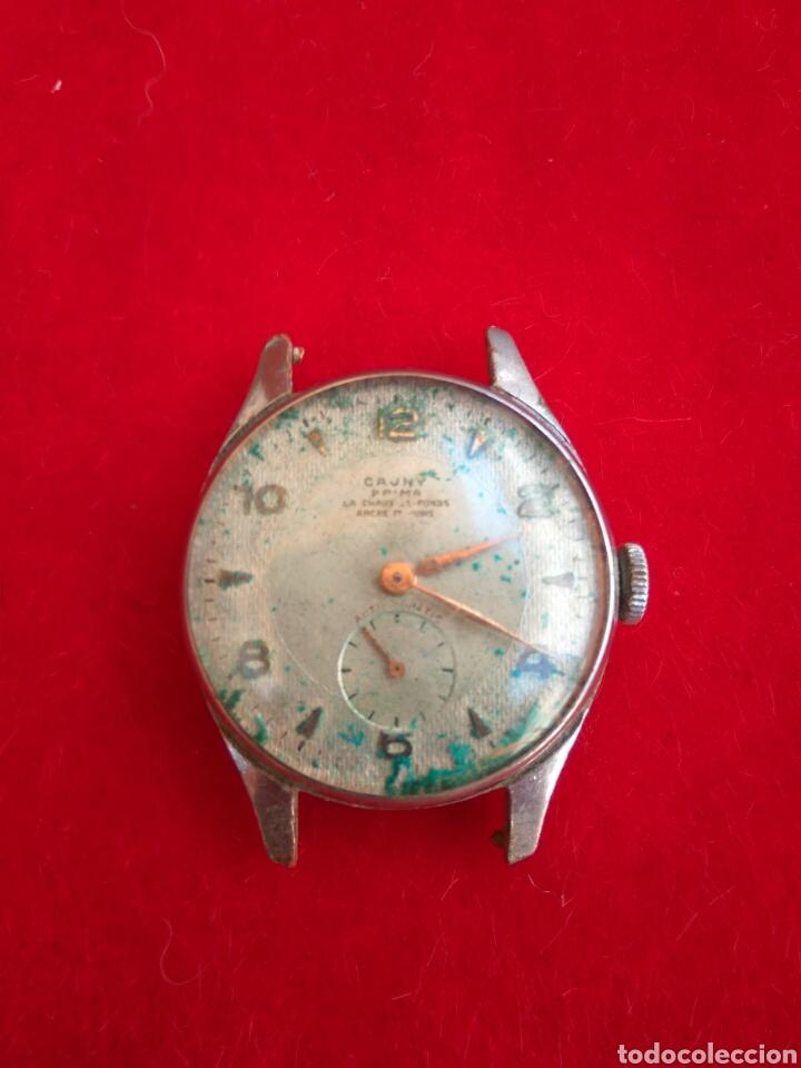 RELOJ CAUNY PRIMA LA CHAUX DE FONS (Relojes - Pulsera Carga Manual)