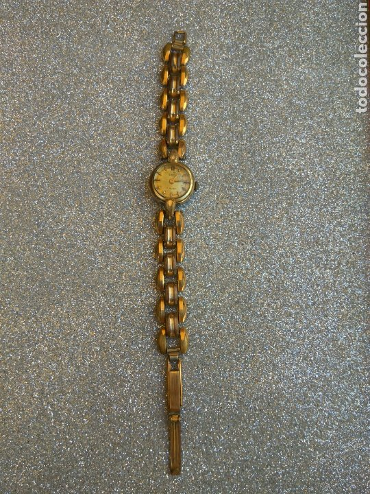 Relojes de pulsera: RELOJ CAUNY PRIMA PLAQUE ORO 20 MICRAS - Foto 2 - 212257120