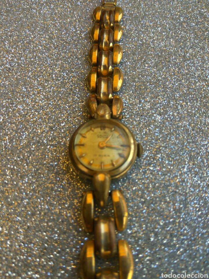 Relojes de pulsera: RELOJ CAUNY PRIMA PLAQUE ORO 20 MICRAS - Foto 3 - 212257120