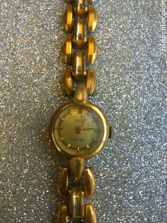 RELOJ CAUNY PRIMA PLAQUE ORO 20 MICRAS (Relojes - Pulsera Carga Manual)