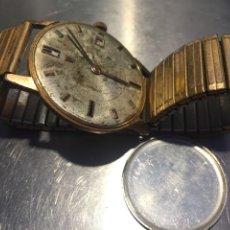 Relojes de pulsera: RELOJ PULSERA SWISS SUIZO FESTINA 17 JEWELS CALENDARIO A LAS 3 INCABLOC CORONA AÑOS 40 50 35MM. Lote 212271856