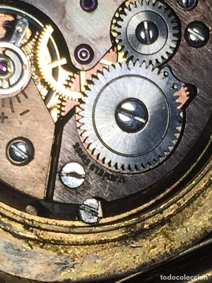 Relojes de pulsera: reloj pulsera swiss suizo festina 17 jewels calendario a las 3 incabloc corona años 40 50 35mm - Foto 11 - 212271856