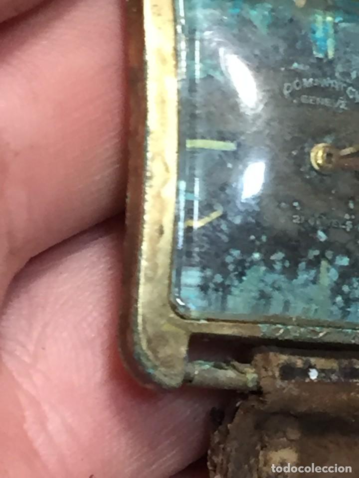 Relojes de pulsera: reloj pulsera dom watch geneve swiss suiza 21jewels num 1080 26x28mm corona - Foto 10 - 212272518