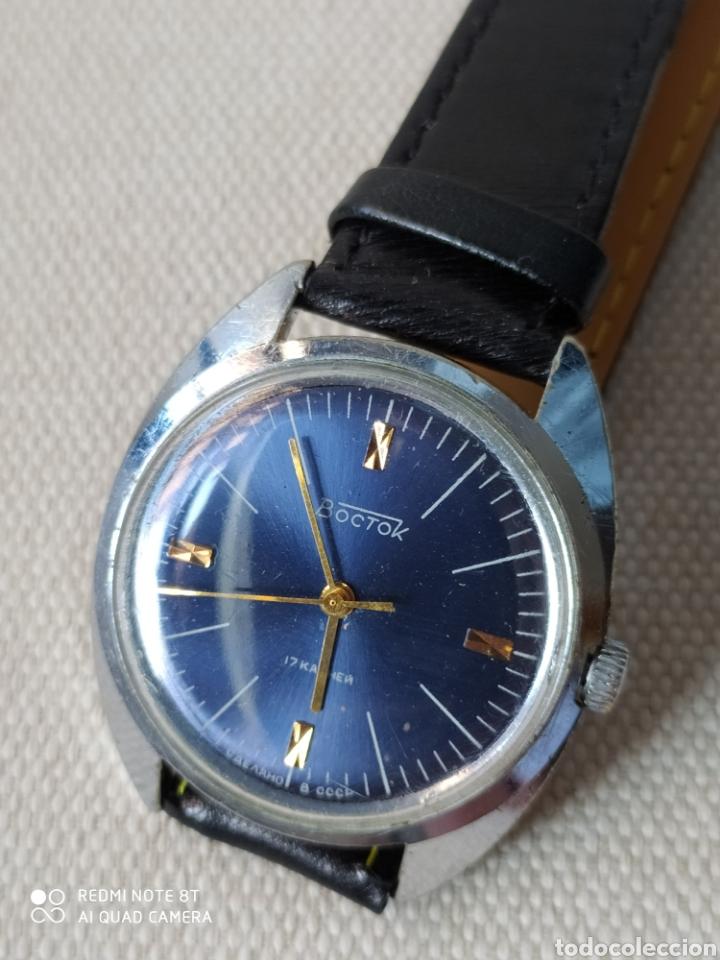 VOSTOK, RELOJ SOVIETICO RUSO MECANICO. (Relojes - Pulsera Carga Manual)