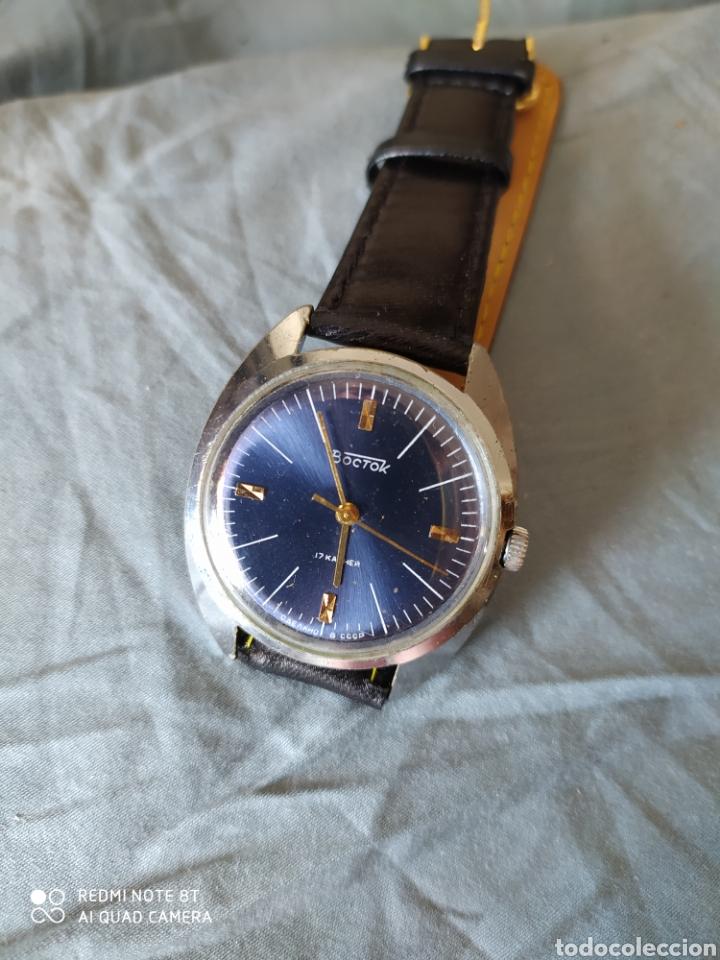 Relojes de pulsera: Vostok, Reloj sovietico ruso mecanico. - Foto 3 - 212620260