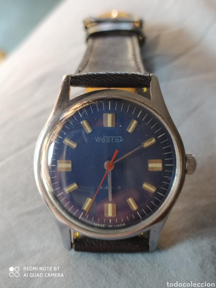Relojes de pulsera: Vostok, Reloj sovietico ruso mecanico. - Foto 2 - 212622166