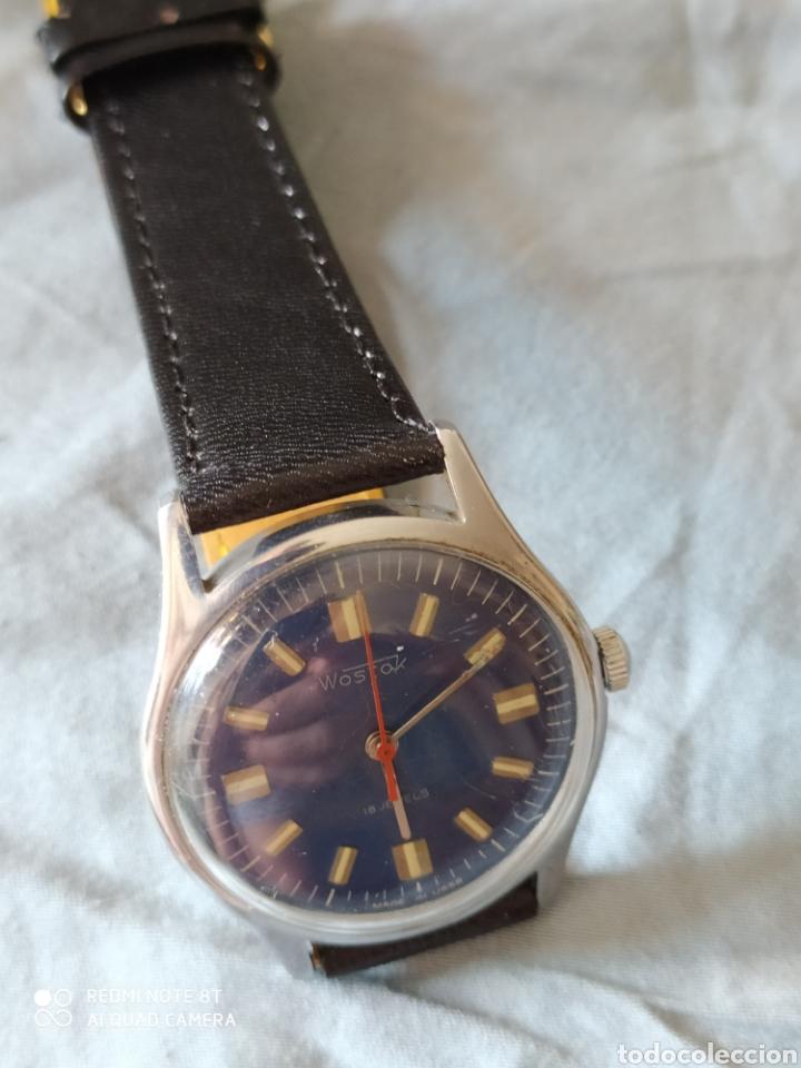 Relojes de pulsera: Vostok, Reloj sovietico ruso mecanico. - Foto 3 - 212622166