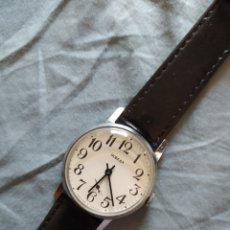 Relojes de pulsera: RELOJ MANUAL RUSO POBEDA. Lote 212623876