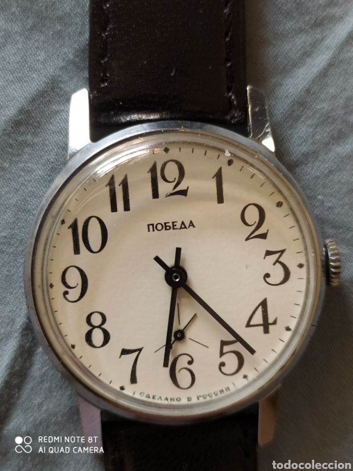 Relojes de pulsera: Reloj manual ruso Pobeda - Foto 2 - 212623876
