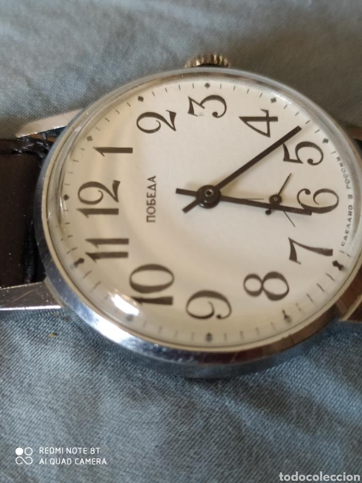 Relojes de pulsera: Reloj manual ruso Pobeda - Foto 3 - 212623876