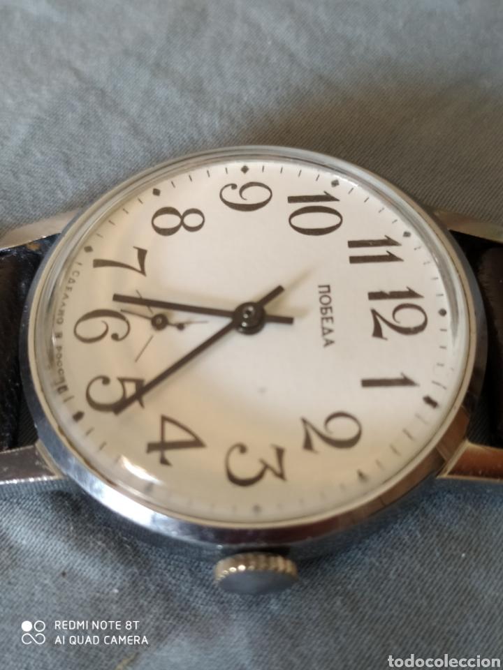 Relojes de pulsera: Reloj manual ruso Pobeda - Foto 4 - 212623876