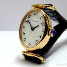 Relojes de pulsera: BELLO RELOJ VINTAGE DE SEÑORA LEO ANDREOTTI DE CARGA MANUAL Y NUEVO A ESTRENAR. Lote 212833076