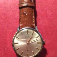 Relojes de pulsera: ANTIGUO RELOJ DE PULSERA LONGINES CAJA DE ACERO RELOJ DE CUERDA , FUNCIONANDO PERFECTAMENTE. Lote 213066040