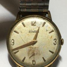 Relojes de pulsera: RELOJ DUWARD CARGA MANUAL MODELO VINTAGE EN FUNCIONAMIENTO. Lote 213324961