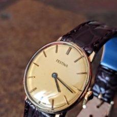 Relojes de pulsera: RELOJ SWSS FESTINA 17 RUBIS DE CARGA MANUAL FUNCIONA PERFECTO MUY NUEVO. Lote 213471353