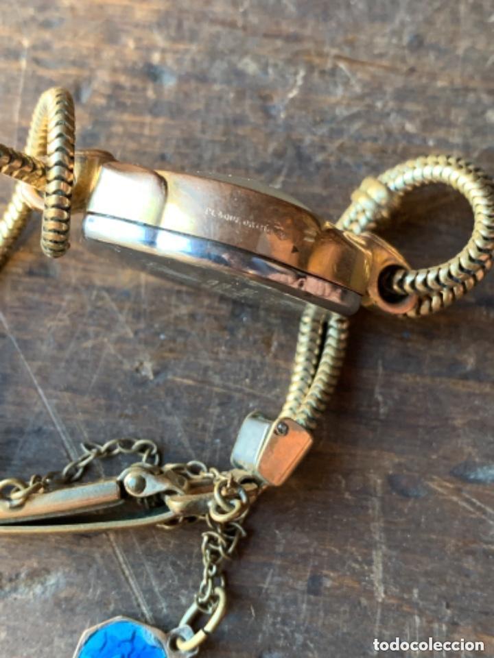 Relojes de pulsera: RELOJ DE PULSERA DE SEÑORA CON BAÑO DE ORO Y CAJA DE ACERO - MARCA KOUCE - SUIZO - Foto 10 - 38404853