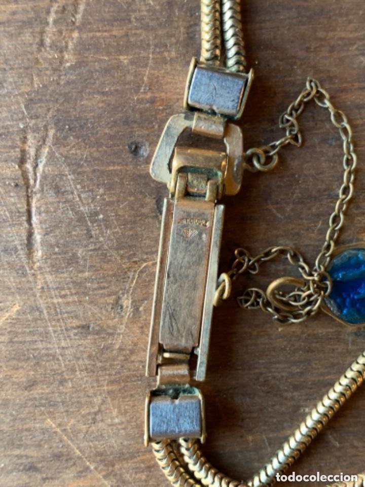 Relojes de pulsera: RELOJ DE PULSERA DE SEÑORA CON BAÑO DE ORO Y CAJA DE ACERO - MARCA KOUCE - SUIZO - Foto 11 - 38404853