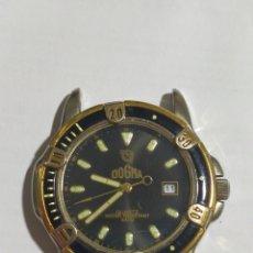 Relojes de pulsera: RELOJ DOGMA QUARTZ FALTA PILA. Lote 213740571