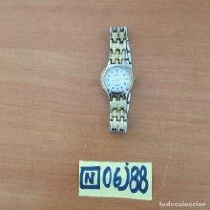 Relojes de pulsera: RELOJ GENEVA CHAPADO ORO. Lote 215393125