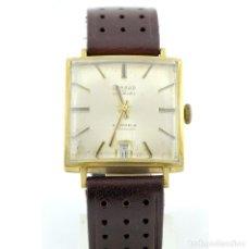 Relojes de pulsera: RELOJ DE PULSERA PARA CABALLERO. CONDOR-10 AUTOMATIC. ORO 14K. SUIZA, CA. 1960. Lote 215460868