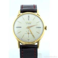 Relojes de pulsera: CAUNY. RELOJ DE PULSERA DE CABALLERO. ORO 18K. CA. 1960. Lote 215462855