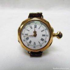 Relojes de pulsera: BESANÇOR BISONTINE (FRANCIA). RELOJ DE COLGAR-PULSERA, LEPINE Y REMONTOIR. CA. 1900. ORO 18K.. Lote 215465213
