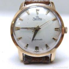 Relojes de pulsera: ZENTRA ROYAL AUTOMATIC. RELOJ DE PULSERA PARA CABALLERO. ORO 14K. CA. 1970. Lote 215547926