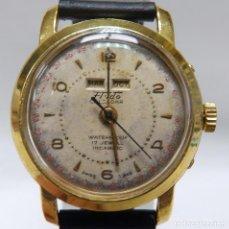 Relojes de pulsera: FLUDO. RELOJ DE PULSERA DE CABALLERO. CA. 1960. GRAN COMPLICACIÓN.. Lote 215548140
