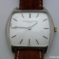 Relojes de pulsera: VACHERON CONSTANTIN. RELOJ DE PULSERA UNISEX. CA. 1970. ORO 18K.. Lote 215652418