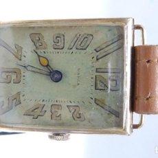 Relojes de pulsera: WARZA. RELOJ SUIZO DE PULSERA PARA CABALLERO. ORO 14K. CA. 1910. Lote 215652950