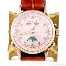 Relojes de pulsera: BREITLING. RELOJ AUTOMÁTICO DE PULSERA, CALENDARIO Y MULTIFUNCIÓN. ACERP Y GOLDFILLED. SUIZA.. Lote 215653463